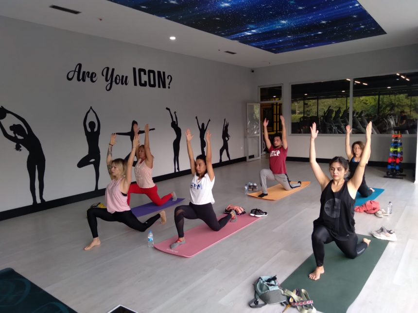 ICON GYM PRESTIGE MALL AVM'DE