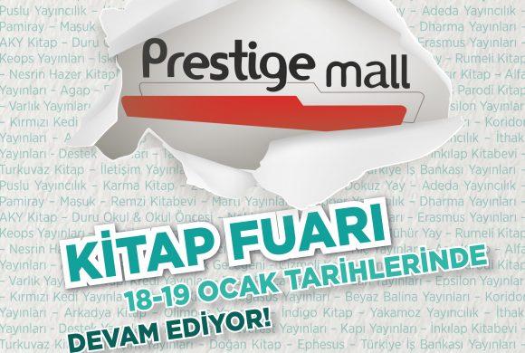 Prestige Mall AVM Kitap Fuarı