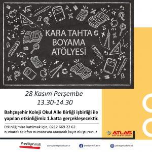 Kara Tahta Boyama Atölyesi